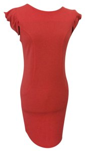 short dress Punch pink tangerine coral on Tradesy
