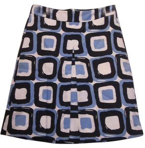 Banana Republic Skirt Dark Blue/Light Blue/White