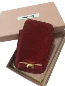 Miu Miu iPhone cover/ card holder