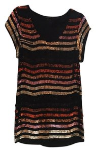 French Connection Sequin Mini Shift Dress
