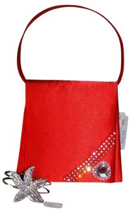 Daico Evening Special Occasions Evening Red Clutch
