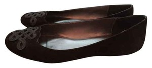 A. Marinelli Brown Suede Flats