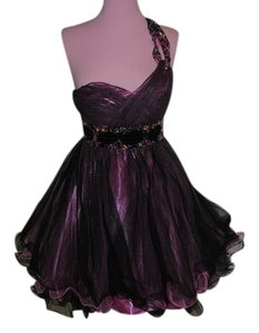 BouBou Embellished One Shoulder Prom Dress