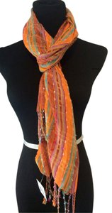 Urban Outfitters New ! Urban Outfitters Boho-Chic Fall Scarf in Mandarin