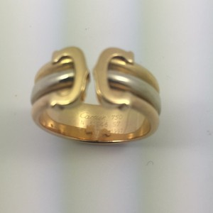 Cartier Cartier 18k gold two-tone Men's Ring. 9.3 gr Gold