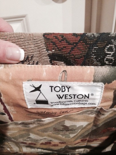 Toby Weston Earth Tones Travel Bag