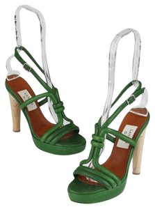 Lanvin Green Sandals
