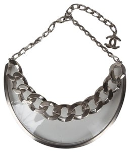 Chanel Chanel Silver Choker Necklace