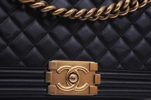 Chanel Quilted Leather Medium Shoulder Bag