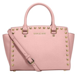 Michael Kors Satchel in pale PINK/gold