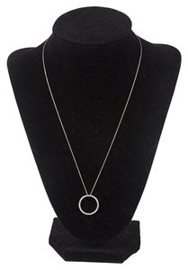 Roberto Coin Roberto Coin Open Circle Diamond Necklace