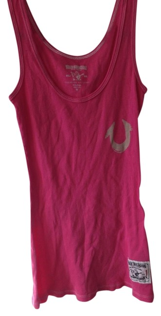 Item - Pink Summer Casual Tank Top/Cami Size 8 (M)