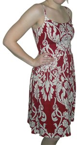 Ann Taylor Linen Paisley Dress
