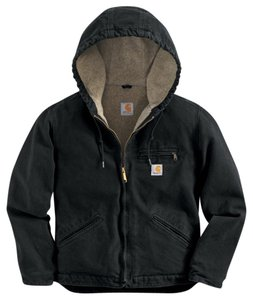 Carhartt Cargo Lined Black Jacket