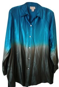 Linea by Louis Dell' Olio Top Teal/Green