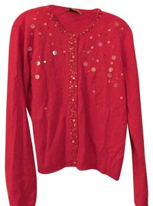 Lilly Pulitzer Holiday Beaded Sequin Top Pink