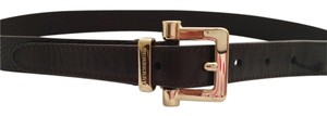 Burberry Burberry Leather Belt Italy