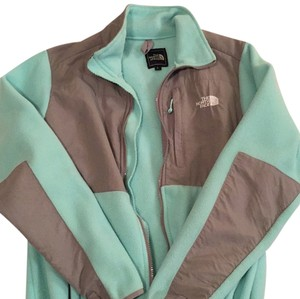 The North Face Mint and grey Jacket