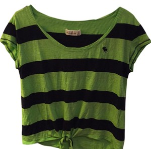 Abercrombie & Fitch T Shirt Like green and navy