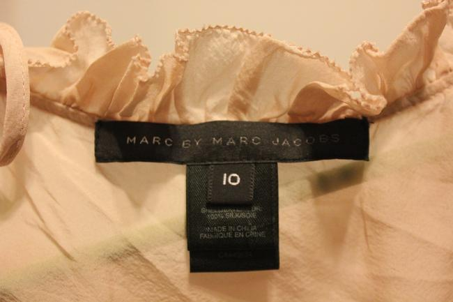 Marc by Marc Jacobs Silk Flowy Pink Top Nude