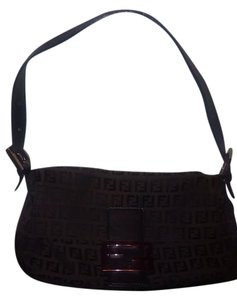 Fendi Satchel in Dark brown/blk