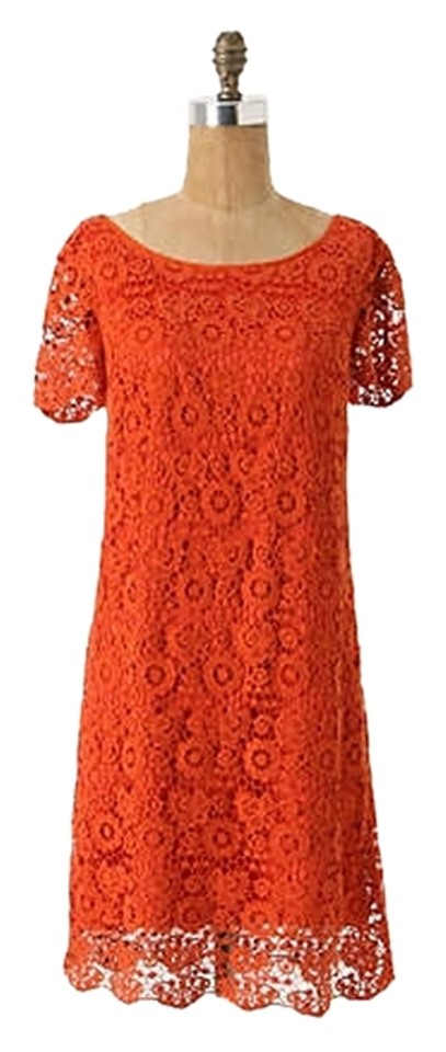 7ae7fabd186c Moulinette Soeurs short dress Red Anthropologie Horkelia Shift Lace Crochet  on Tradesy Image 0 ...