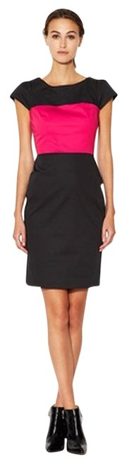Preload https://item3.tradesy.com/images/french-connection-multi-color-black-pink-block-mini-cocktail-dress-size-10-m-694177-0-0.jpg?width=400&height=650