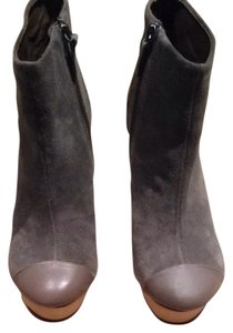 Messeca New York Taupe Matte Leather/suede Boots