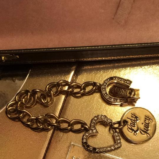 Juicy Couture Gold Juicy Bracelet Semi Used