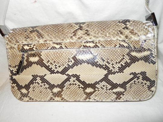 Stuart Weitzman Snakeskin Shoulder Bag