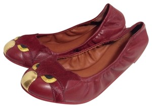 Marc by Marc Jacobs Mbmj Newinbox Cherry Red Flats