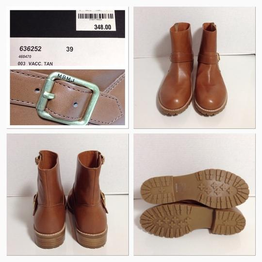 Marc by Marc Jacobs Mbmj Classicsbootie Newinbox Tan Boots