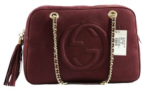 Gucci Satchel in Burgundy