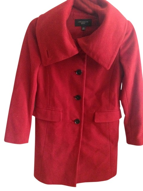 Preload https://item1.tradesy.com/images/jcrew-red-pea-coat-size-petite-2-xs-694450-0-0.jpg?width=400&height=650