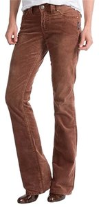 Silver Jeans Co. Suki Surplus Boot Cut Pants Rust/Brown