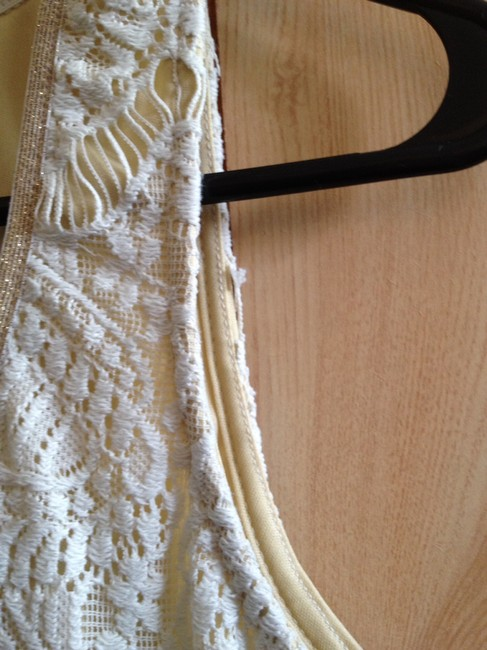 Ophelia for FC short dress White lace on Tradesy