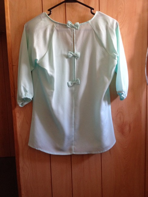 Annabelle Top Pastel, teal