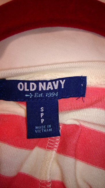 Old Navy Top salmon and cream