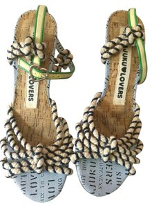 L.A.M.B. by Gwen Stephani Harajuku Lovers Cork Heel various Sandals
