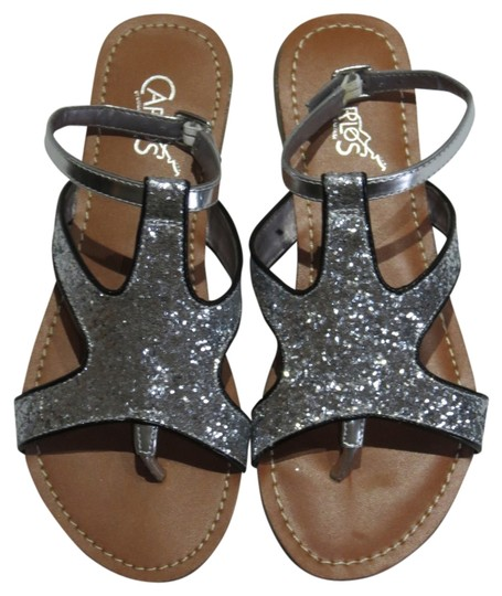 Preload https://item1.tradesy.com/images/carlos-by-carlos-santana-silver-new-without-tags-sandals-size-us-8-694860-0-0.jpg?width=440&height=440