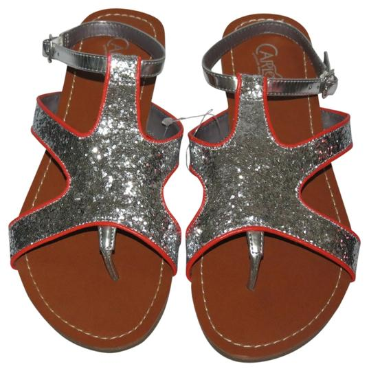 Preload https://img-static.tradesy.com/item/694881/carlos-by-carlos-santana-silver-new-without-tags-75m-sandals-size-us-75-0-0-540-540.jpg
