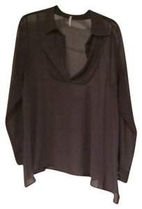 Free People Top Steel grey