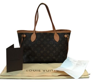 Louis Vuitton Tote in Neverfull PM in monogram canvas. Copy of Original Receipt! Made in the USA! SD2162. Gorgeous!