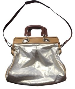 Francesco Biasia Tote in Silver