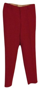 Banana Republic Trouser Pants Lasalle red