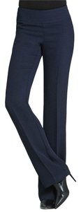 CAbi Curvy Fit Side Zip Classic Trouser Pants Navy
