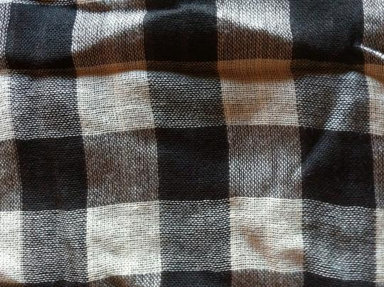 Nordstrom Nordstrom Checkered Scarf Wrap