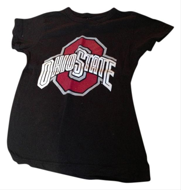 Co ed Ohio Buckeyes T Shirt Black