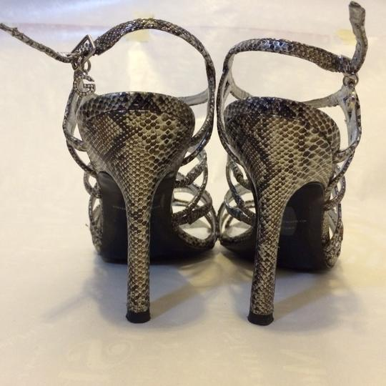 Guess Silver Synthetic Sandals