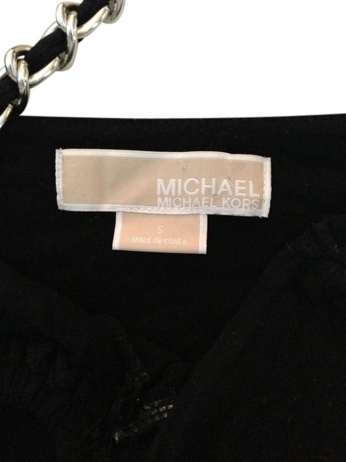 Michael Kors Halter Chain Top Black